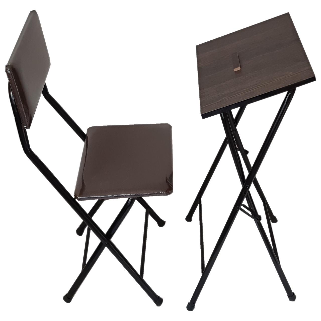 میز و صندلی نماز تاشو مدل یاس 110
