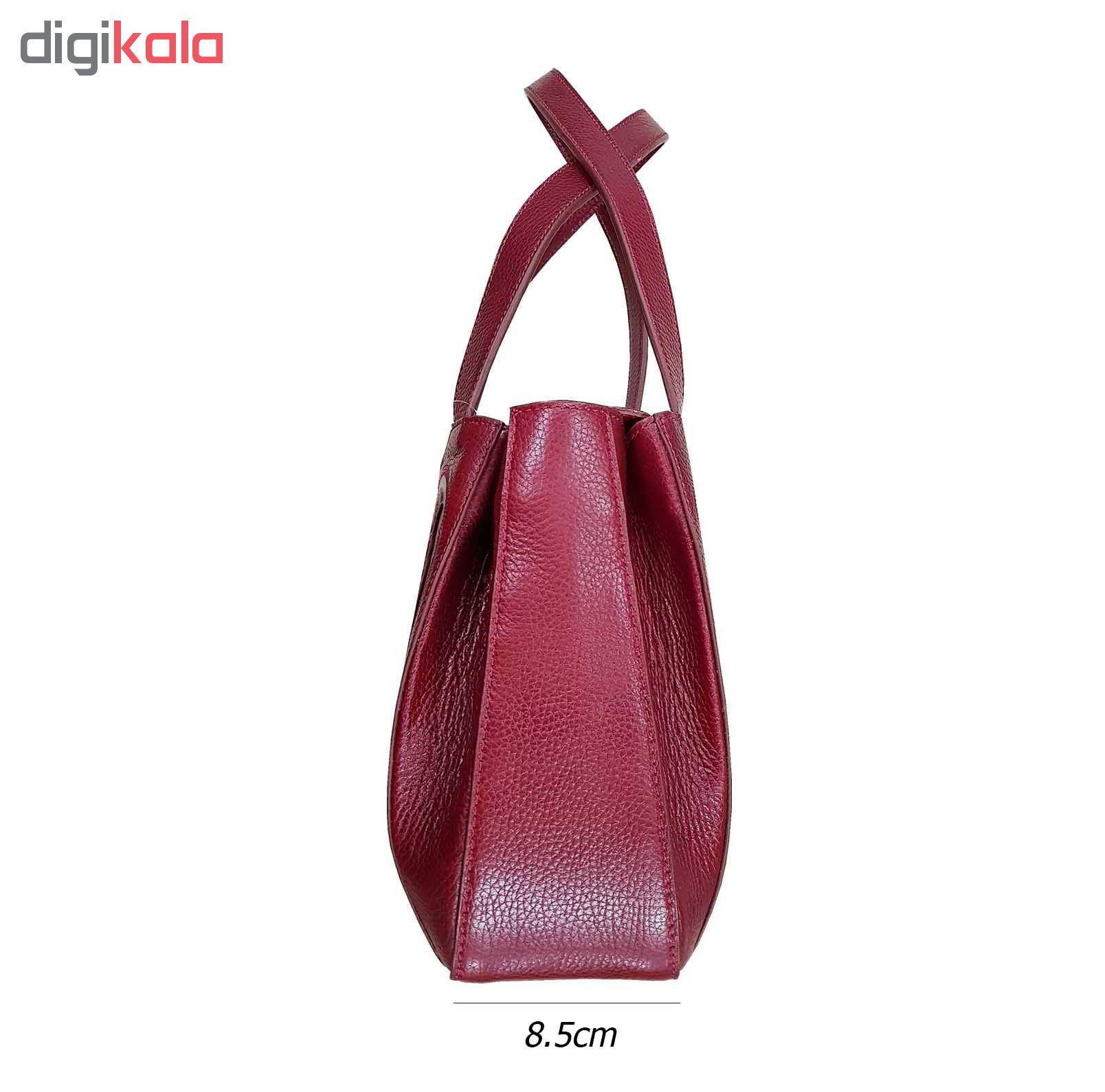 کیف دستی زنانه چرم نگار مدل آیشن CN-207082