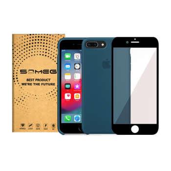 کاور سومگ مدل SIC مناسب برای گوشی موبایل اپل iPhone 8Plus به همراه محافظ صفحه نمایش