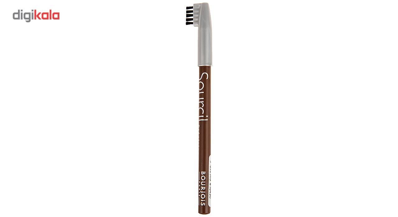 مداد ابرو بورژوآ مدل  Sourcils Precision شماره 04 main 1 1