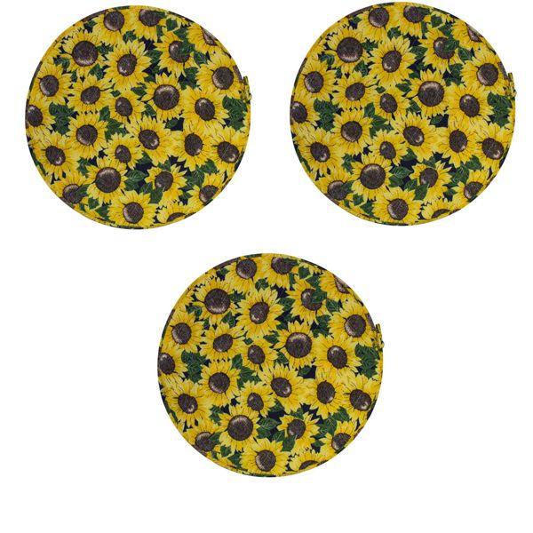 دم کنی طرح آفتابگردان سایز 40 مجموعه سه عددی