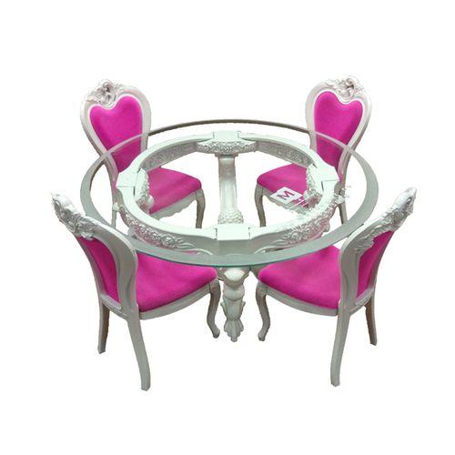 ماکت میز و صندلی ماندگار مدل سپید