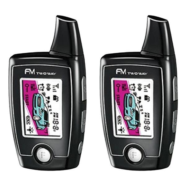 دزدگیر خودرو زنوتیک مدل پی ال سی کد ریموت PLC Car Alarm Xenotic FM-A17