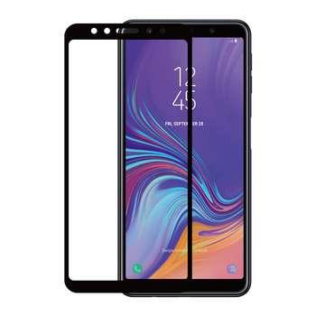 محافظ صفحه نمایش نیکسو مدل Full Glue مناسب برای گوشی موبایل سامسونگ گلکسی A7 2018