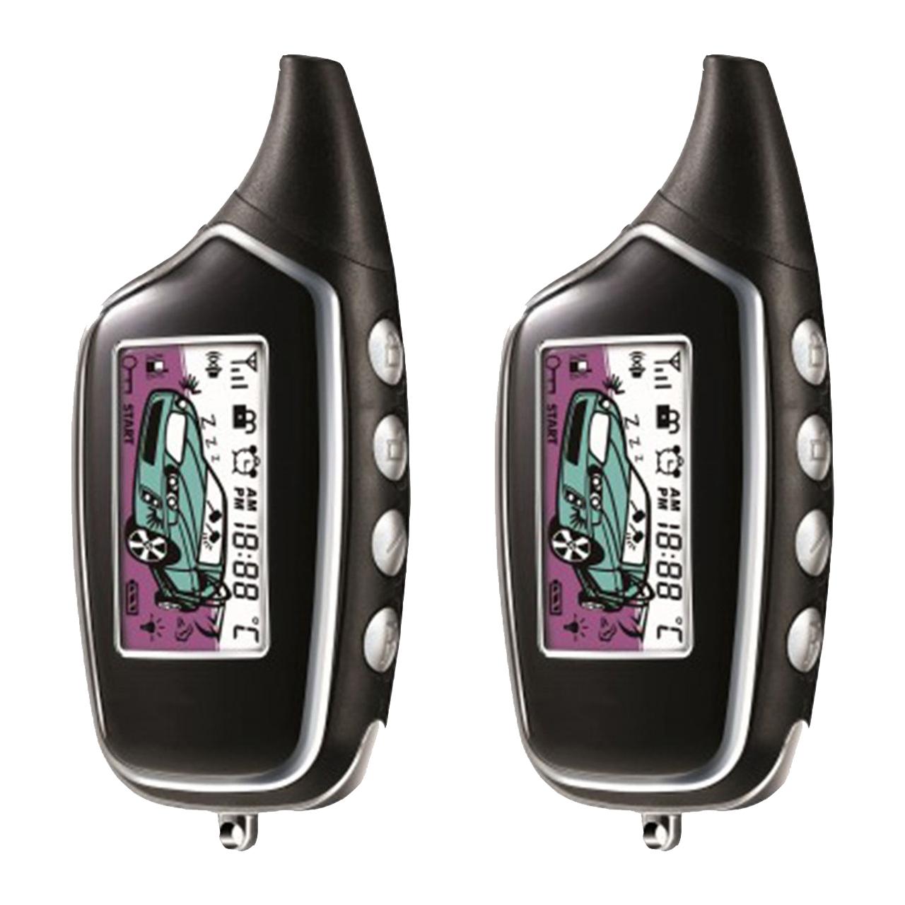 دزدگیر خودرو زنوتیک مدل پی ال سی کد ریموت PLC Car Alarm Xenotic FM-A8