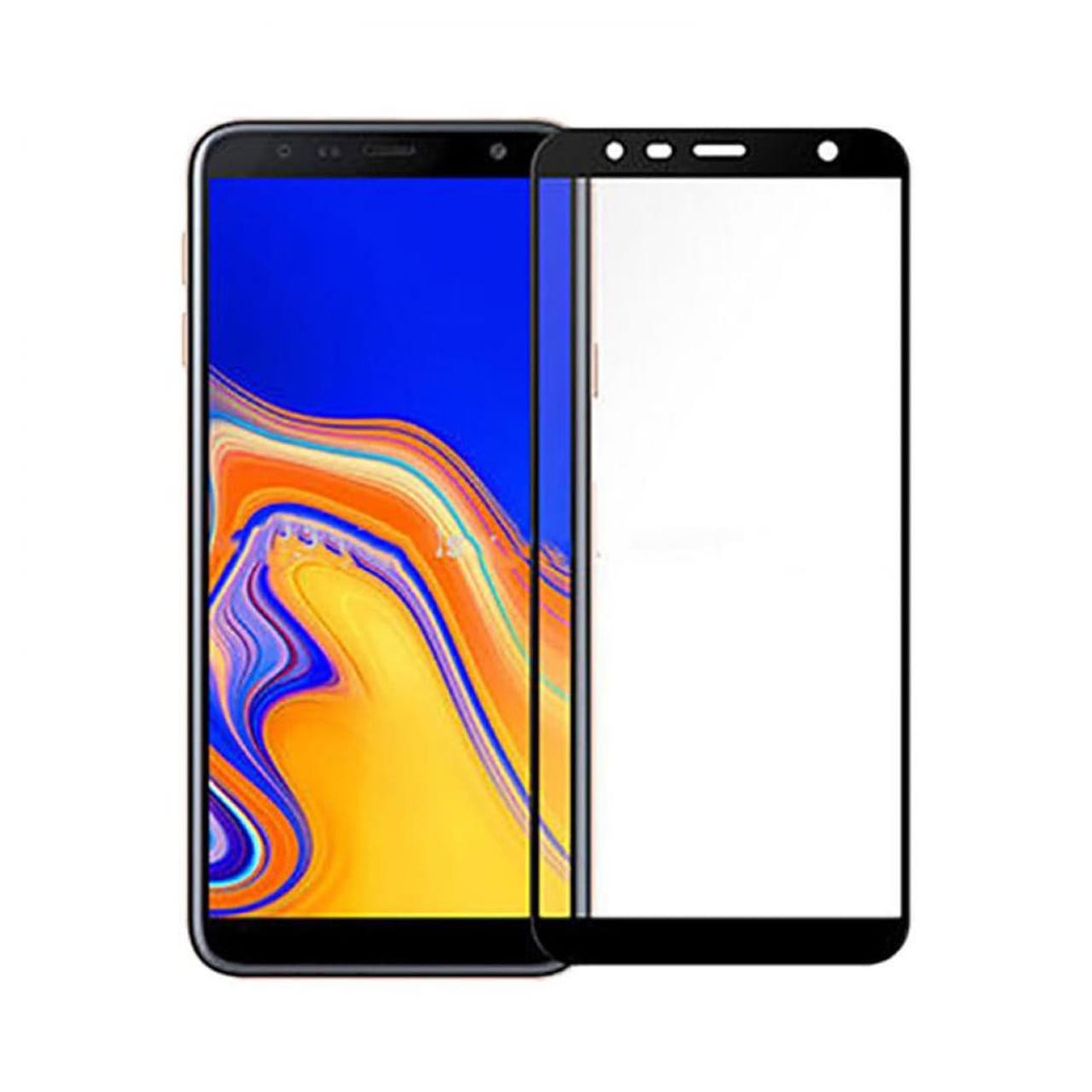 خرید اینترنتی [با تخفیف] محافظ صفحه نمایش نیکسو مدل Full Glue مناسب برای گوشی موبایل سامسونگ گلکسی J6 Plus اورجینال