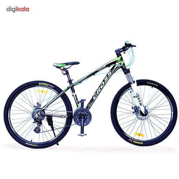 دوچرخه هیبریدی کراس مدل Legend سایز 27.5