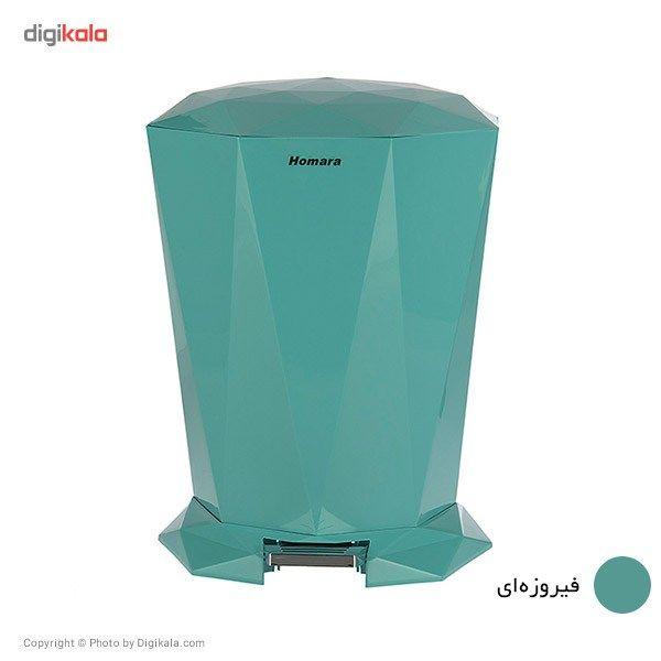 سطل زباله پدالی همارا سایز بزرگ main 1 2