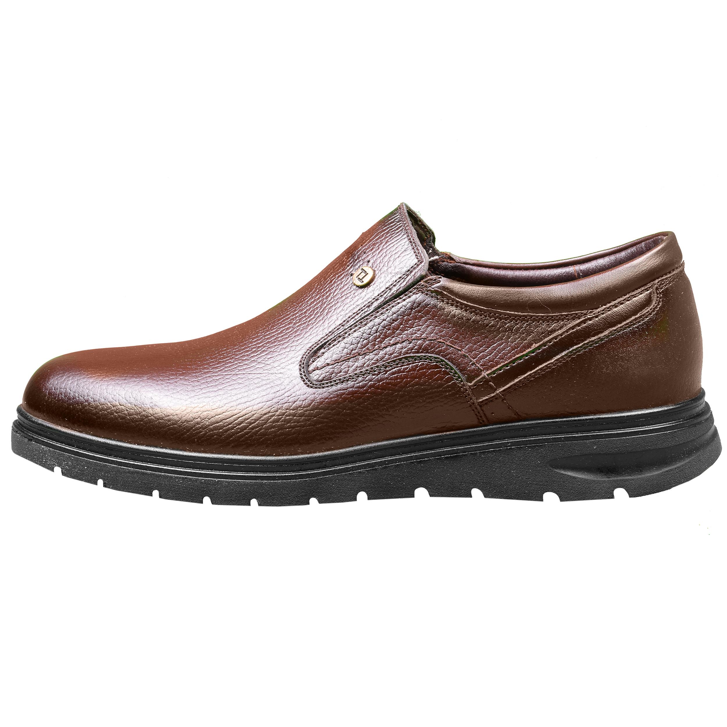 کفش مردانه طاها مدل 1086 رنگ قهوه ای