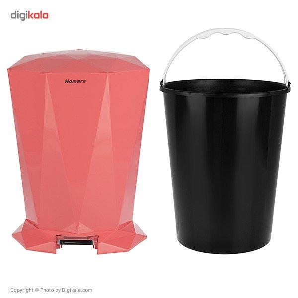 سطل زباله پدالی همارا سایز بزرگ main 1 7