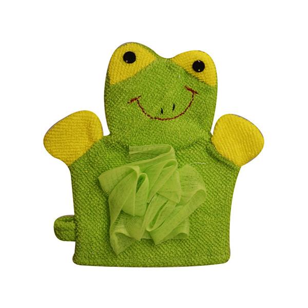 لیف حمام کودک مدل Frog
