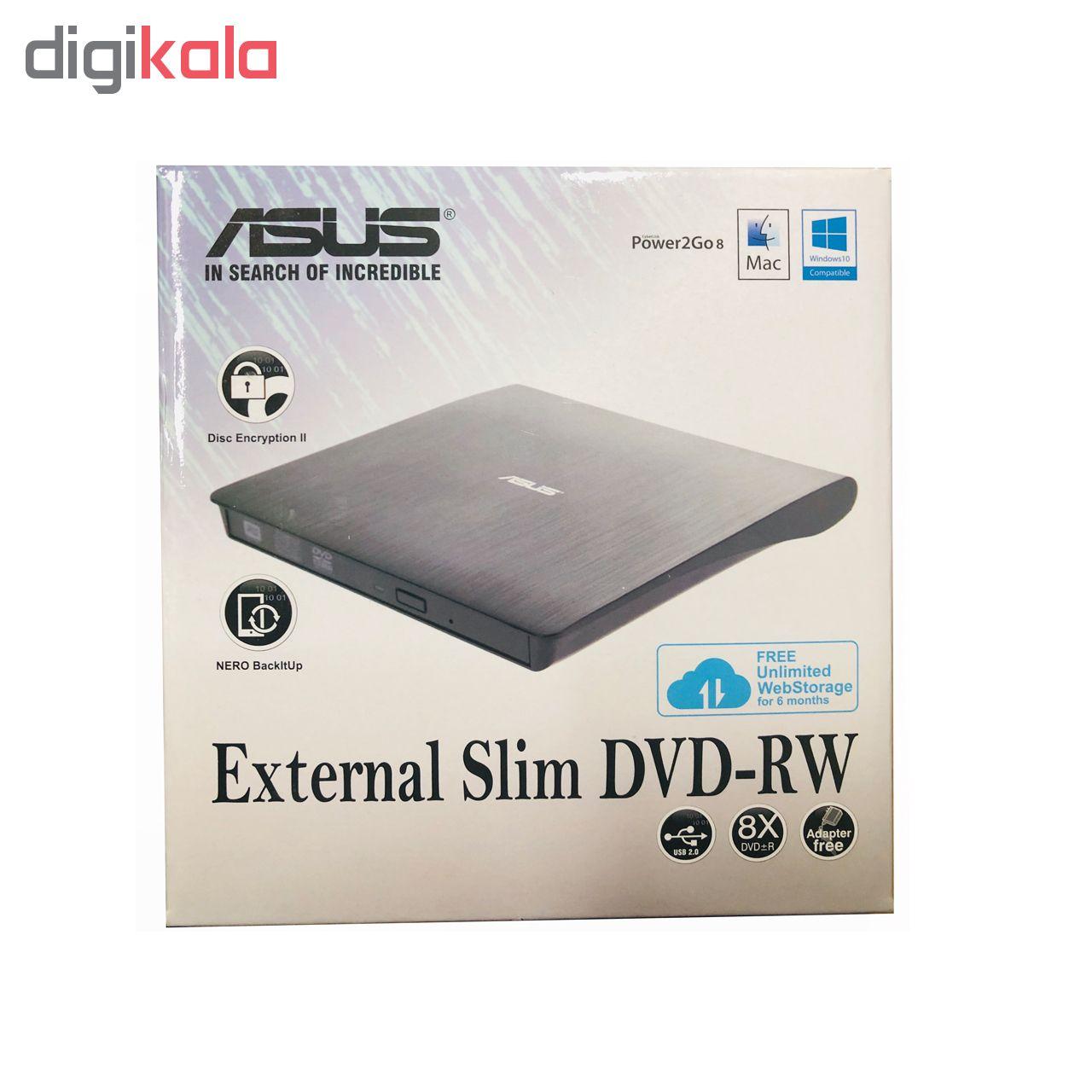 درايو DVD اكسترنال ايسوس مدل SDRW08D-U