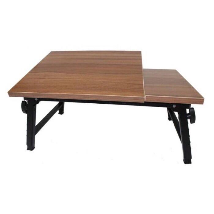 میز تحریر و لپ تاپ تاشو دو تکه سایز متوسط مدل Goo27