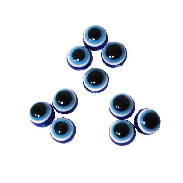 مهره دستبند مدل چشم نظر کد 04-01 بسته 10 عددی