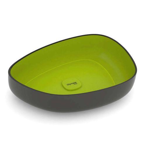 کاسه روشویی المپیا مدل MET42550NV مشکی سبز