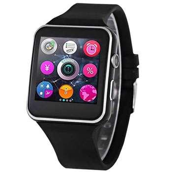 ساعت هوشمند  مدل x6 همراه محافظ صفحه نمایش شیدتگ