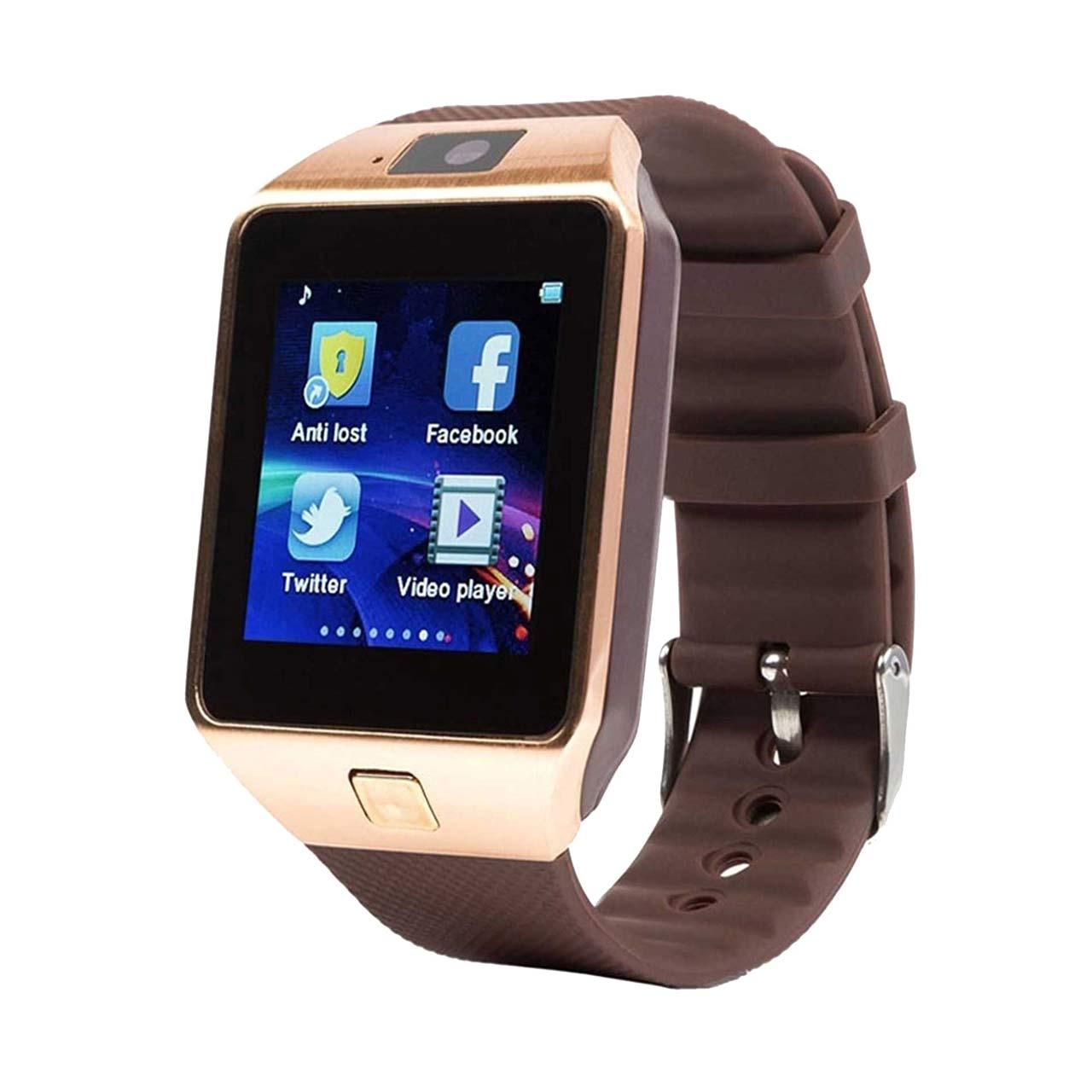 ساعت هوشمند مدل DZ09 همراه محافظ صفحه نمایش شیدتگ