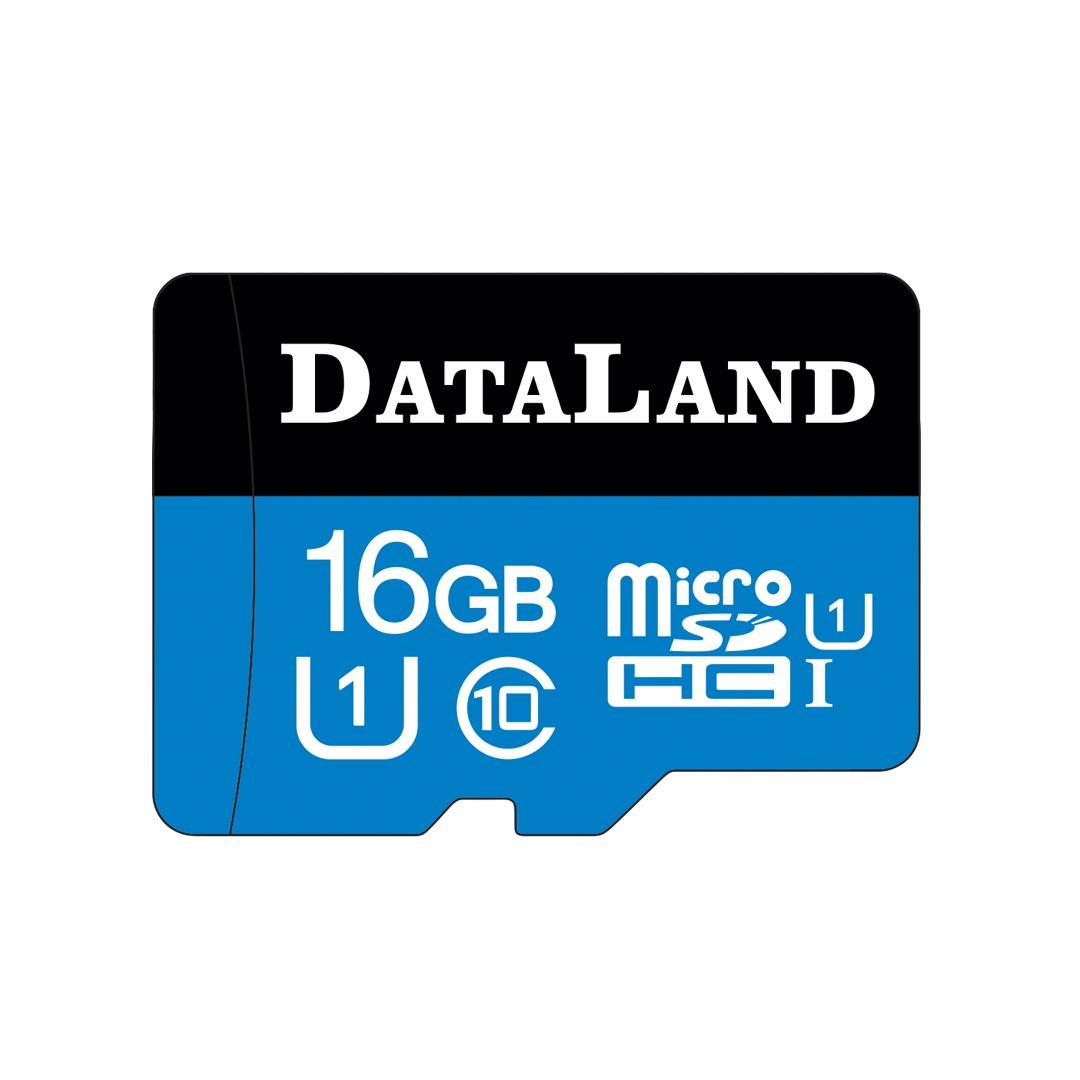 کارت حافظه microSDHC دیتالند مدل 533x کلاس 10 استاندارد UHS-I U1 سرعت 85MBps ظرفیت 16 گیگابایت