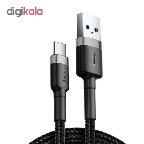 کابل تبدیل USB به USB-C باسئوس مدل Cafule طول 1 متر main 1 1