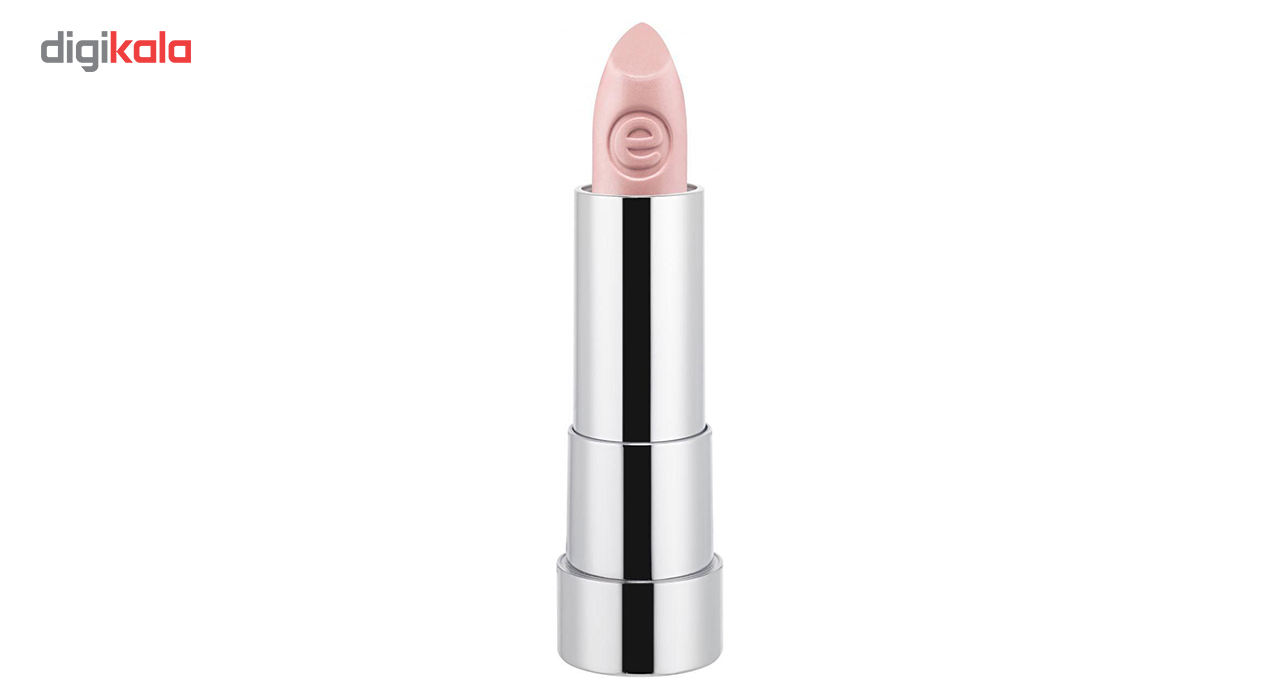 رژ لب جامد اسنس سری Sheer And Shine شماره 01  Essence Sheer And Shine Lipstick 01