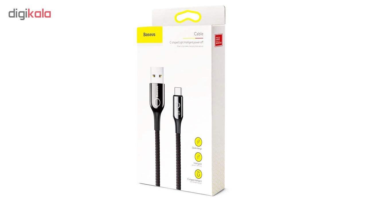 کابل تبدیل USB به USB-C باسئوس مدل C-Shaped طول 1 متر main 1 4