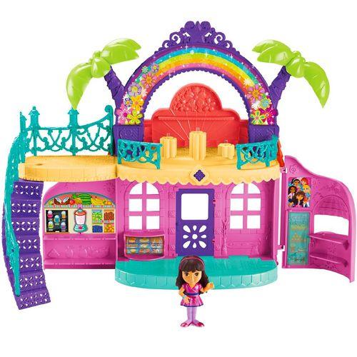 کافه موزیکال فیشر پرایس مدل دورا و دوستان به همراه عروسک دورا