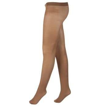 جوراب شلواری زنانه آلمانی نوردای کرم کد 716003/5 بسته 2 عددی