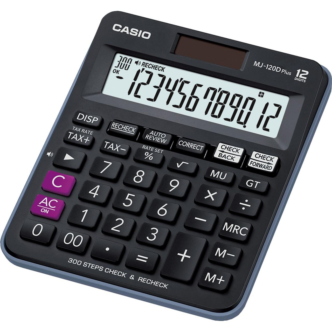خرید ماشین حساب کاسیو مدل MJ-120D PLUS