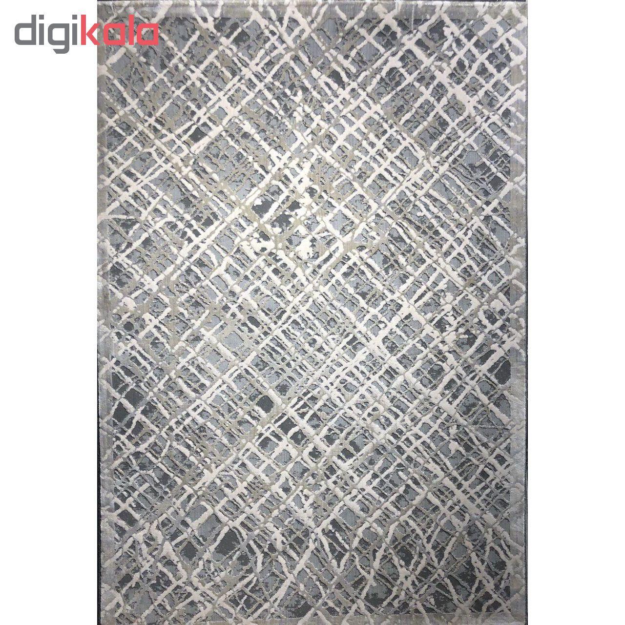 فرش ماشینی طرح پلاتینیوم کد 5002 زمینه طوسی  main 1 1