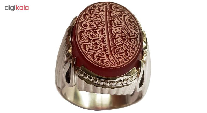 انگشتر نقره مردانه کد a352jw