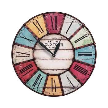 ساعت دیواری طرح آنتیک کد 1040