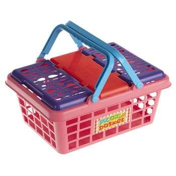ست لوازم آشپزخانه کودک زرین تویز مدل Picnic Basket