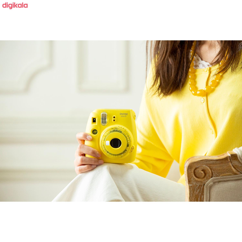 دوربین عکاسی چاپ سریع فوجی فیلم مدل Instax Mini 9 Clear main 1 32