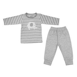 ست تی شرت و شلوار نوزادی بی بی گیفت کد ۵۵۴