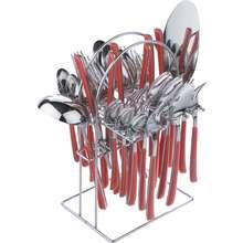 سرویس قاشق و چنگال 33 پارچه  جی فی نی مدل LUXURY