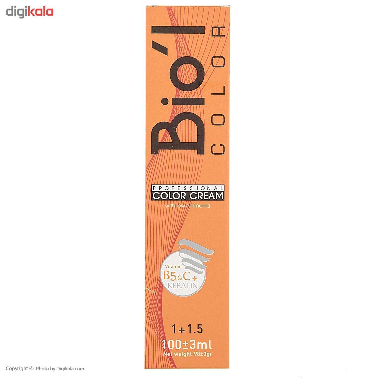رنگ موی بیول سری Nescafe مدل بلوند نسکافه روشن شماره 8.18  Biol Nescafe Light Nescafe Hair Color 8