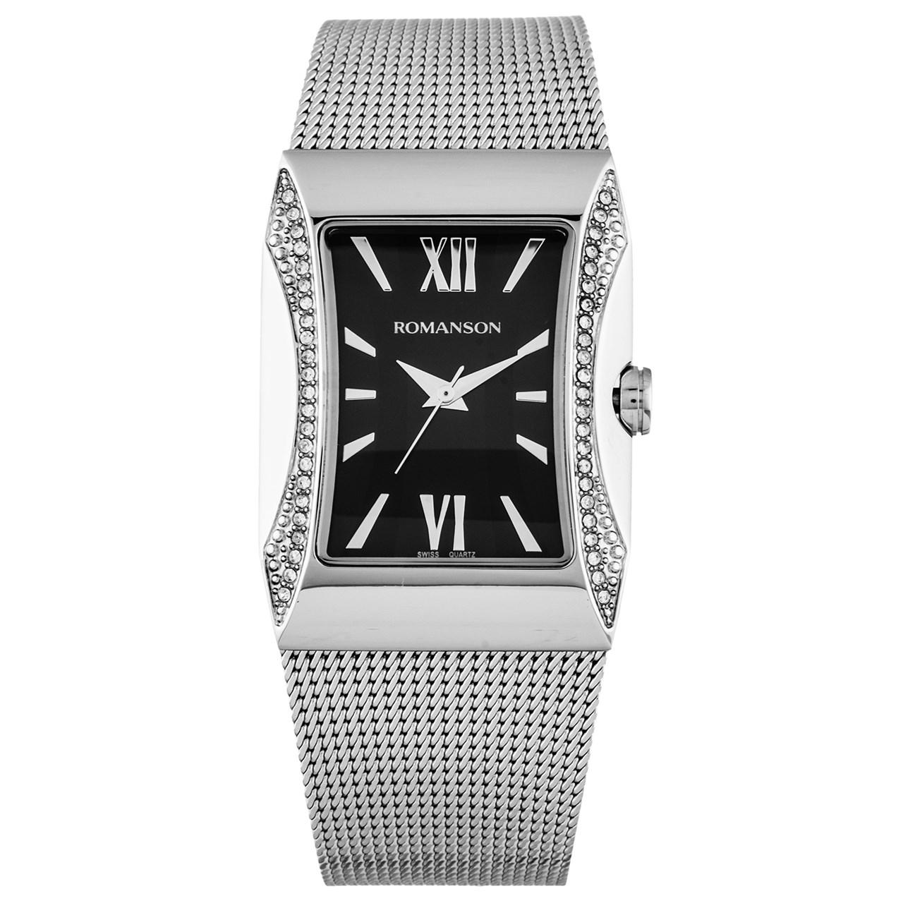 ساعت مچی عقربه ای زنانه رومانسون مدل RM0358TL1WA32W