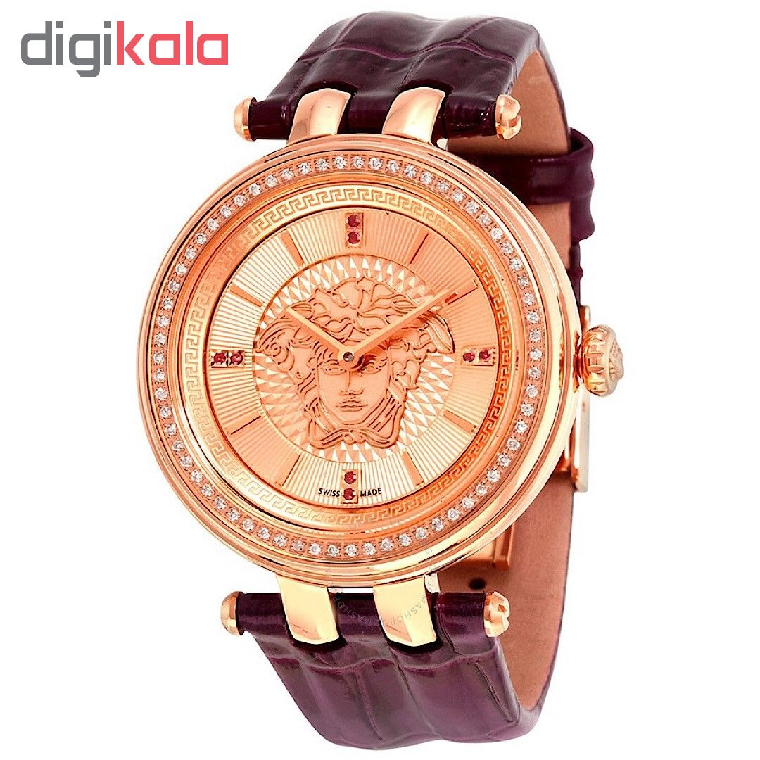 ساعت مچی عقربه ای زنانه ورساچه مدل VQE060015              ارزان