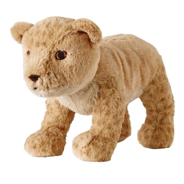 عروسک ایکیا مدل بچه شیر ارتفاع 27 سانتی متر