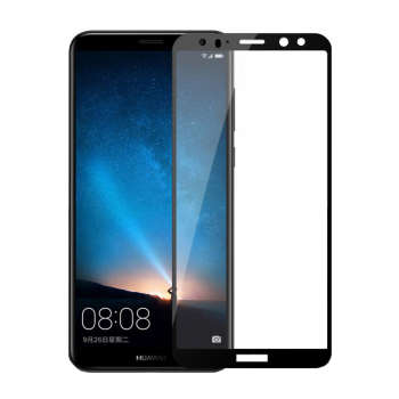 محافظ صفحه نمایش نیکسو مدل Full Glue مناسب برای گوشی موبایل هواوی Mate 10 Lite