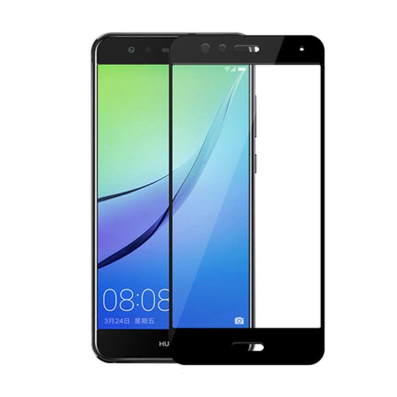 محافظ صفحه نمایش نیکسو مدل Full Glue مناسب برای گوشی موبایل هواوی P10 Lite