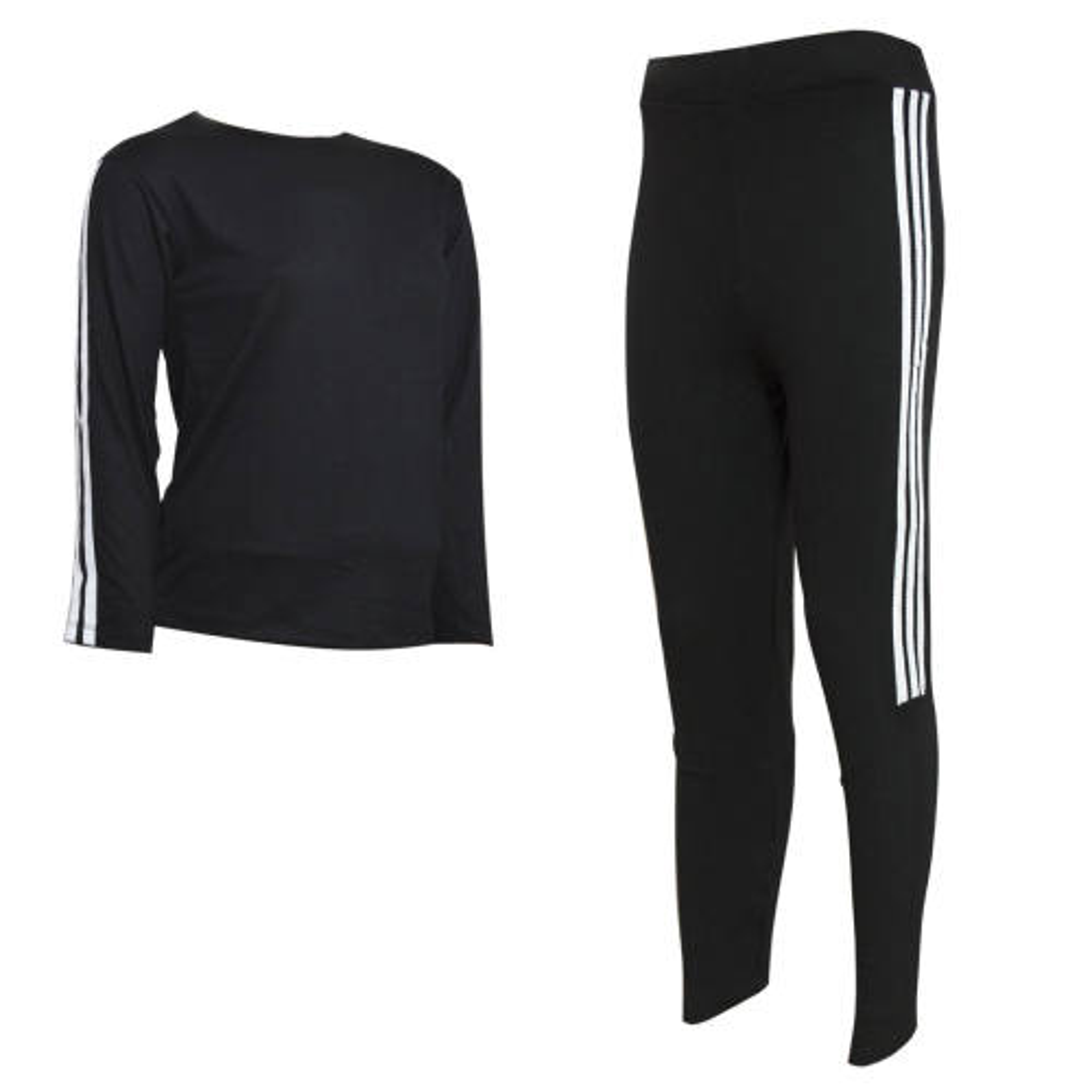 ست تی شرت و شلوار ورزشی زنانه فیتنس کد 3812