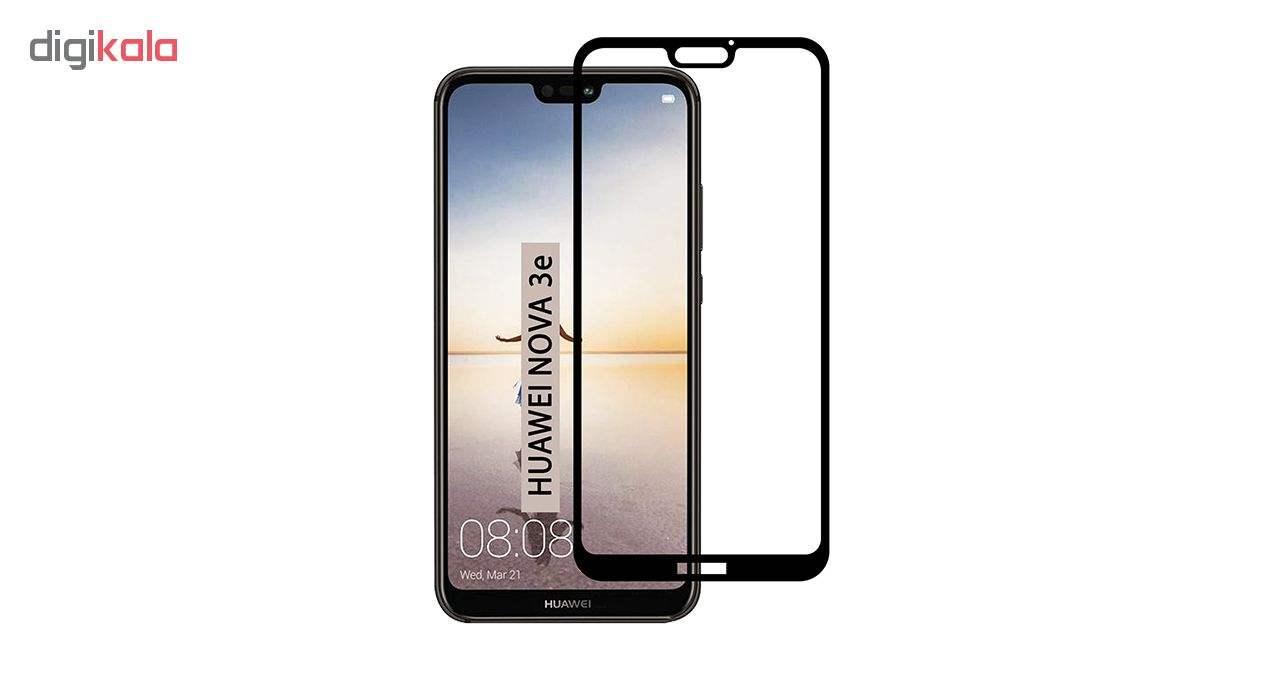 محافظ صفحه نمایش نیکسو مدل Full Glue مناسب برای گوشی موبایل هواوی P20 Lite / Nova 3e main 1 1