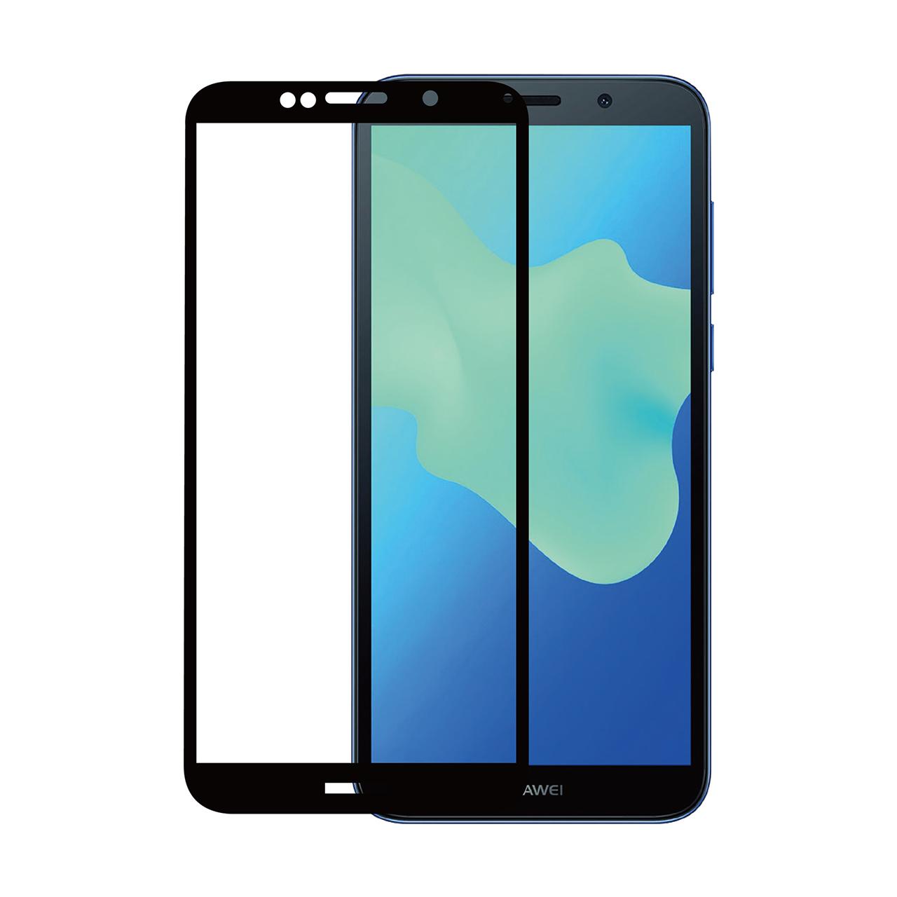 محافظ صفحه نمایش نیکسو مدل Full Glue مناسب برای گوشی موبایل هواوی Y5 Prime 2018
