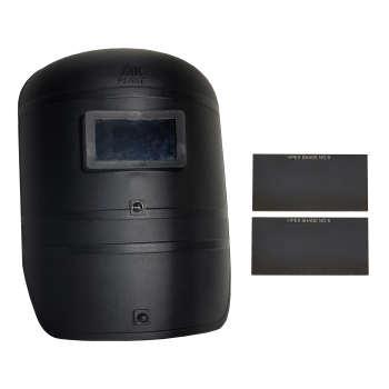 ماسک جوشکاری مدل 1002 به همراه 2 عدد شیشه جوشکاری