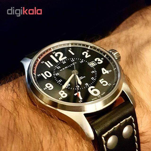 ساعت مچی عقربه ای مردانه همیلتون مدل H70615733