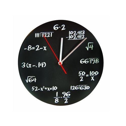 ساعت دیواری دکونوشاپ طرح ریاضی (3)