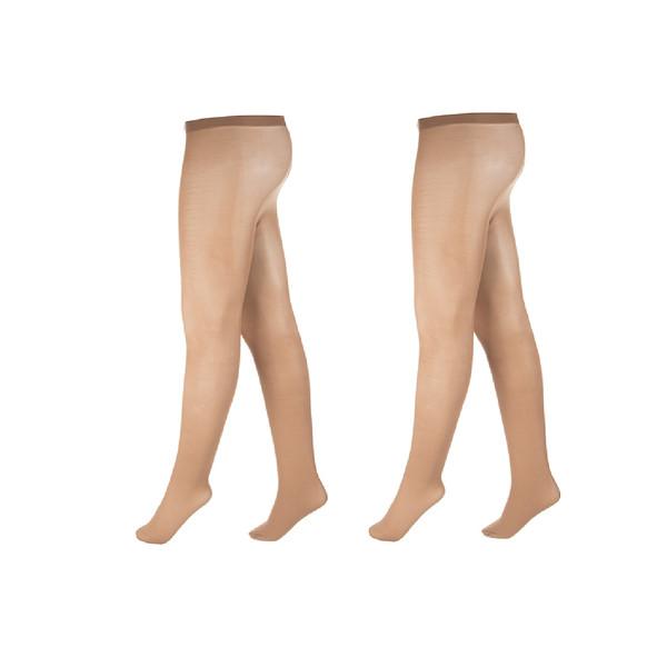 جوراب شلواری زنانه آلمانی نوردای کرم کد716013/2 بسته 2 عددی