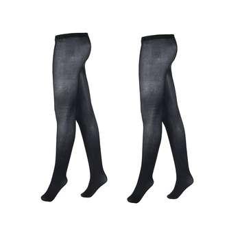 جوراب شلواری زنانه آلمانی  نوردای کد711550/3 بسته 2 عددی