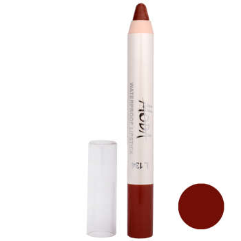 رژ لب مدادی مودا مدل waterproof lipstick شماره 134